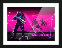 Master Chief   Halo 2 Picture Frame print