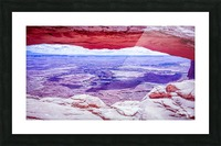 Mesa Arch Canyonlands Picture Frame print