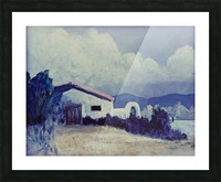 Prairie House Picture Frame print