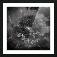 DNA From Space Picture Frame print