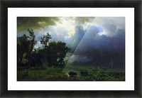 Before the Storm by Bierstadt Picture Frame print