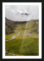 Cusco Valley Picture Frame print