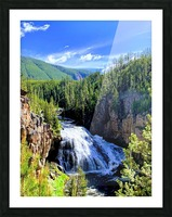 Majestic Waters Picture Frame print