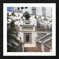 A Street Side In Puerto Rico Series: 1 Picture Frame print