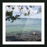 A Street Side in Puerto Rico Series: 3 Picture Frame print