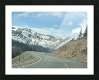 Old Country Road...Up In the Mountains Picture Frame print