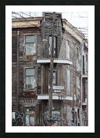 Corner Coloniale and Napoleon - 2018 Picture Frame print