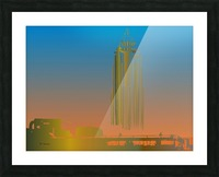 Abstract Skyscraper 1 Picture Frame print