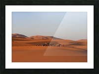 Merzouga sunrise Picture Frame print