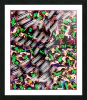 Icing on the Kaleidoscopic Picture Frame print