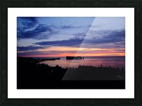Le rocher Perce Picture Frame print
