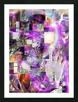 Vortex of Life Picture Frame print