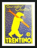 Vintage Travel - Trentino Picture Frame print