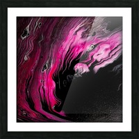 Magenta calling Picture Frame print