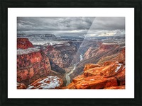 Mysteries of Time Picture Frame print