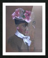 Admirer 1947 Easter Bonnet  Picture Frame print