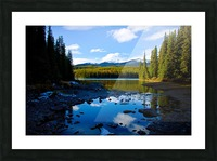 Shallow Bay Picture Frame print
