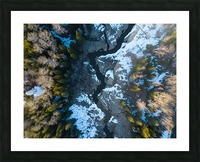 Ontario River Picture Frame print