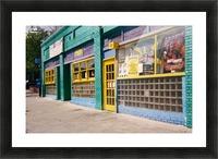 Atlanta Street Scene  Picture Frame print