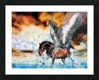 Pegasus Picture Frame print