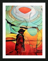 Sun Rings Picture Frame print
