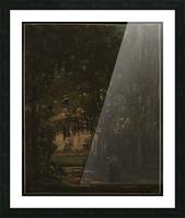 Maison de campagne de l artiste Picture Frame print