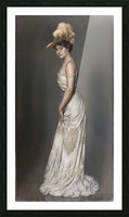 Portrait de madame Rene Prejelan Picture Frame print