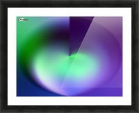 Heart Abstraction Picture Frame print