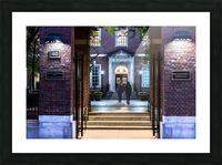 New York University School of Law  Vanderbilt Hall Picture Frame print