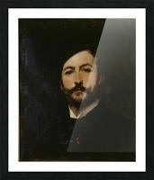 Portrait du baron Antoine d Ezpeleta Picture Frame print