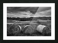 Rolling Down The Hill Picture Frame print