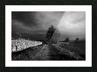 Drama Picture Frame print