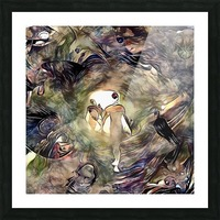 Human Souls in Tunnel of Light Picture Frame print
