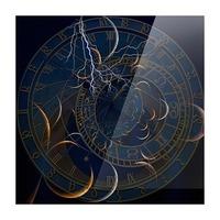 Zodiac Time Picture Frame print