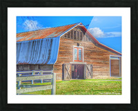 Barn Life..... Picture Frame print