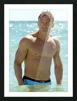 Daniel Craig Picture Frame print