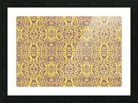 GOLDEN BEAR  Picture Frame print