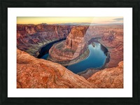 Ring Of Fire Picture Frame print