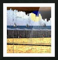 Les voiliers de Porto Picture Frame print