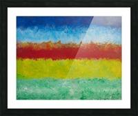 Horizon Picture Frame print