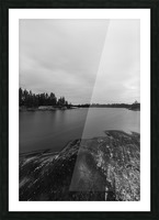 Elton Lake Picture Frame print