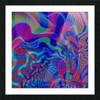 Digital_Tornado_Take_1 Picture Frame print