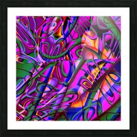 Jazz_Fusion_Series_3 Picture Frame print