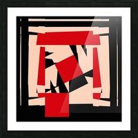 Juggling_Piet_Mondrian Picture Frame print