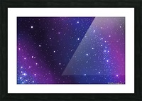galaxy series - 2 Picture Frame print