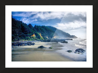 Misty Morning Picture Frame print