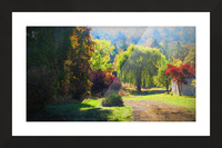 Losing the Leaves Picture Frame print