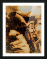 U.S. Civil War Gun and Holster  Picture Frame print