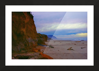At the Coast Picture Frame print