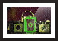 Antique Camera Picture Frame print